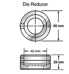 Sunrise Tooling Die Reducer SDRED21
