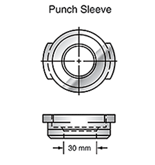 Sunrise Tooling Punch Sleeve SP1BSLV