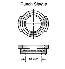 Sunrise Tooling Punch Sleeve SP2BSLV