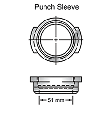 Sunrise Tooling Punch Sleeve SP3BSLV